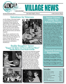 January/February 2014 Newsletter
