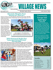 July/August 2014 Newsletter