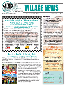 September/October 2015 Newsletter